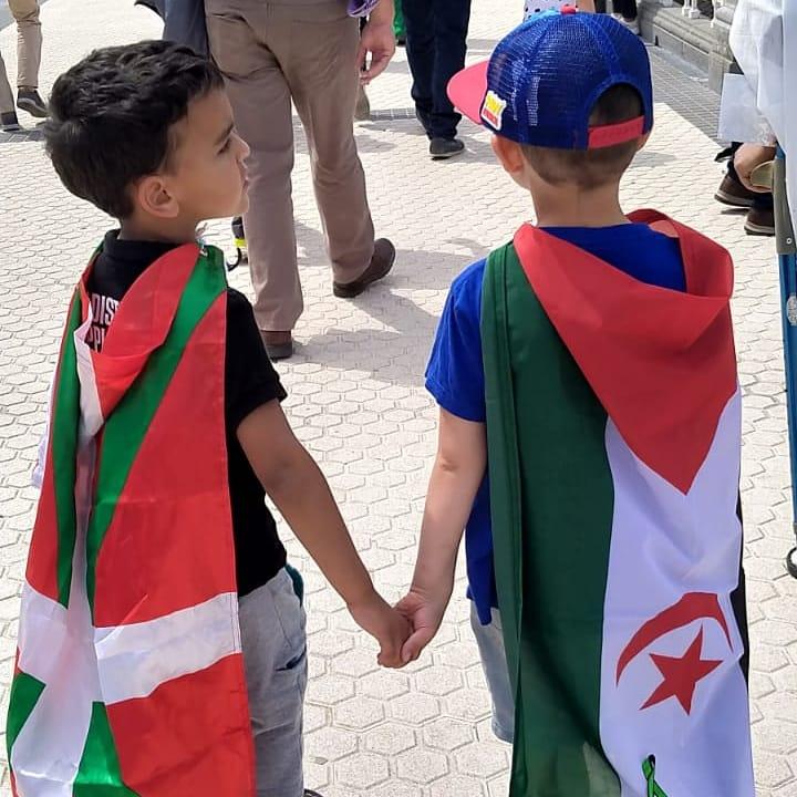 sahara2 - Marcha por la libertad del pueblo saharaui en Donostia