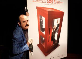 Carlos Areces protagoniza el cartel de la Semana de Cine Fantástico y de Terror. Foto: Santiago Farizano