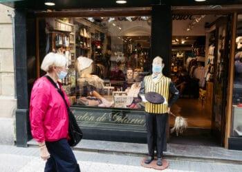 Comercio en Donostia. Foto: Santiago Farizano