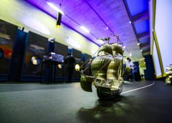 Exposición 'El viaje más largo' en el Museo San Telmo. Fotos: Oskar Moreno