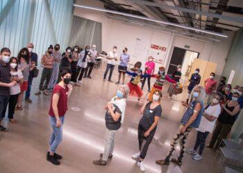Imagen de la reunión. Foto: Hau Egia Da!