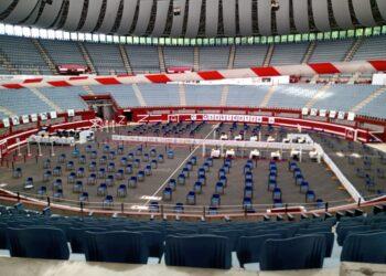 El Donostia Arena no está incluido en el contrato de compra venta pero se vería beneficiado del proyecto previsto, según Goia. Foto: Santiago Farizano