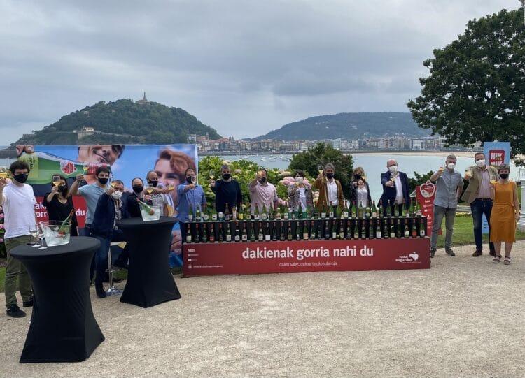 Presentación de la temporada de sidra. Foto: Euskal Sagardoa