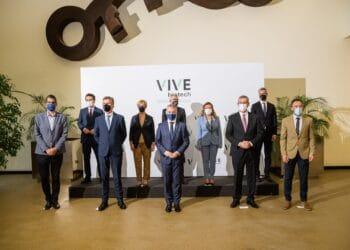Inauguración de locales de VIVEBiotech en Miramon. Foto: Gobierno vasco