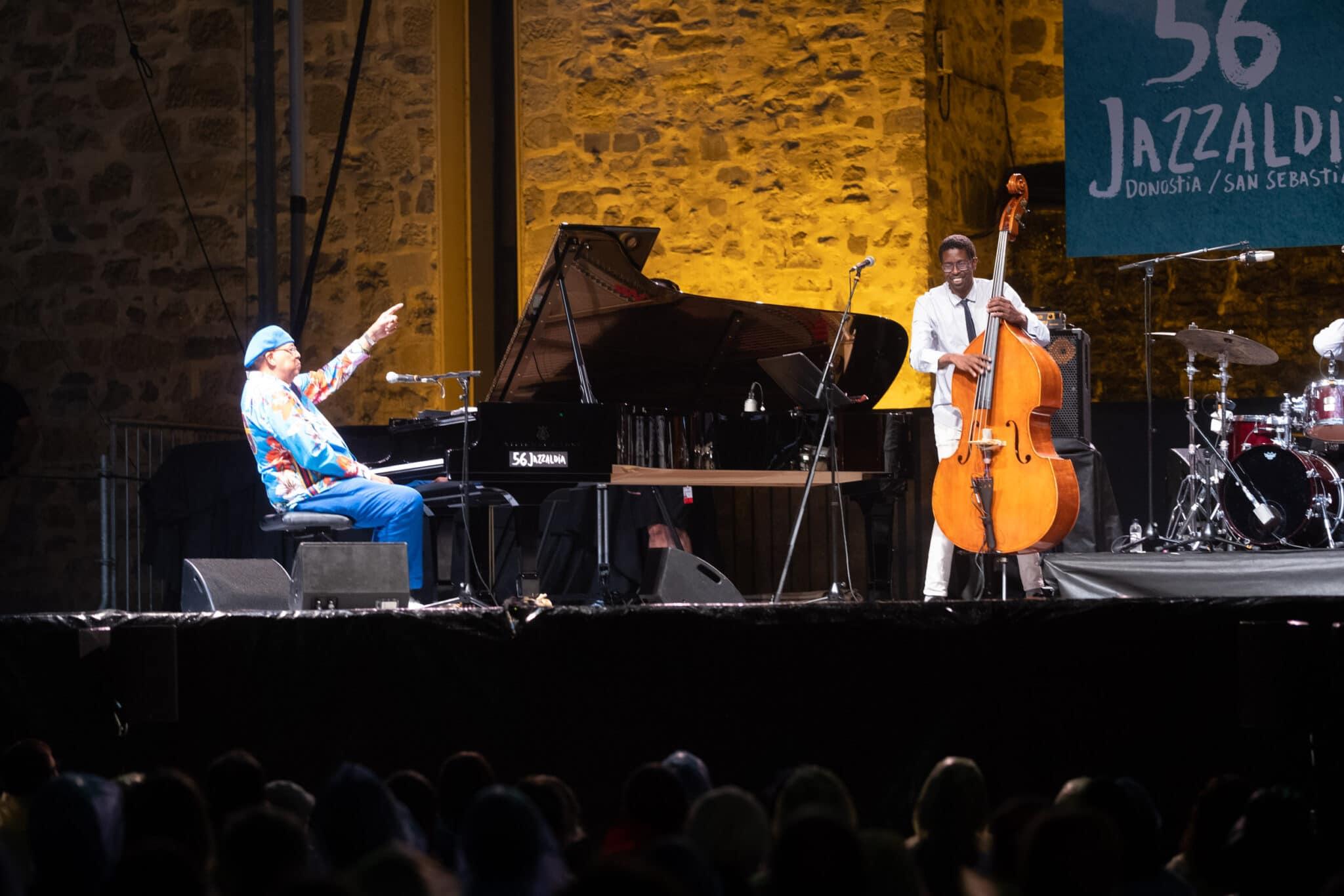 DSCF2309 scaled - Chucho Valdés recoge su premio Donostiako Jazzaldia