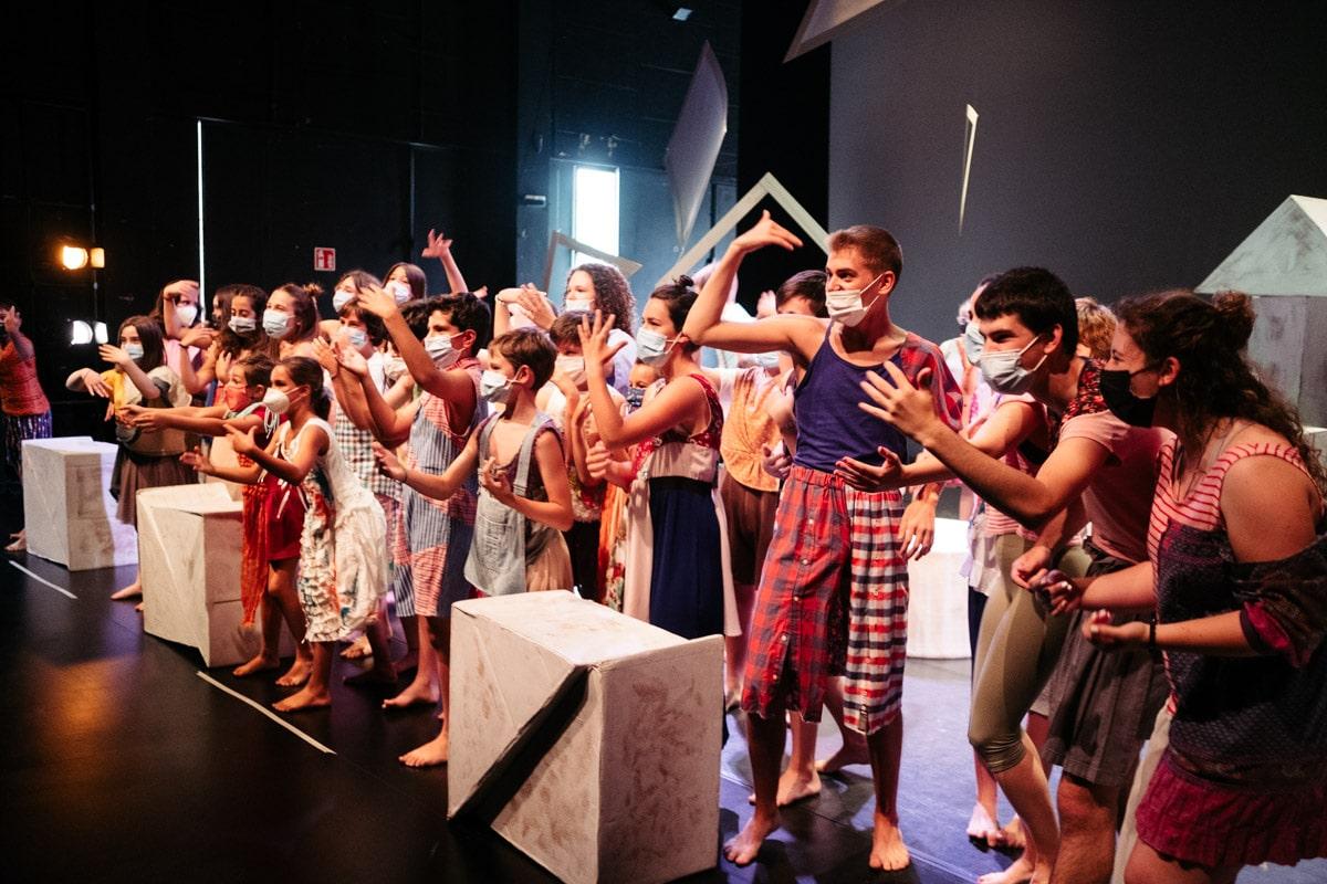 DSCF4030 - Quincena Musical llama a entrar en 'Hirira', la ciudad infantil soñada