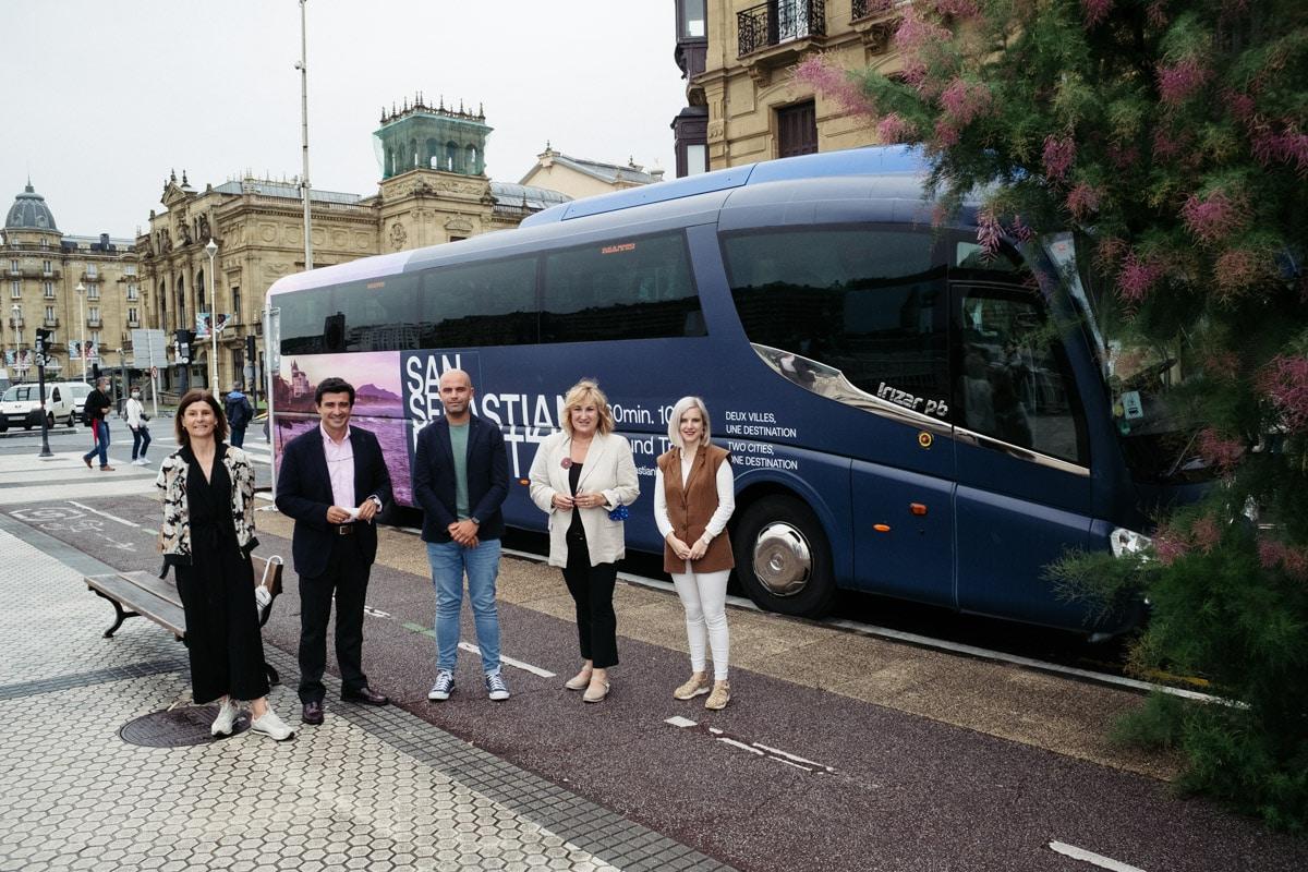 DSCF8552 - Un autobús directo unirá Donostia y Biarritz hasta el 31 de agosto