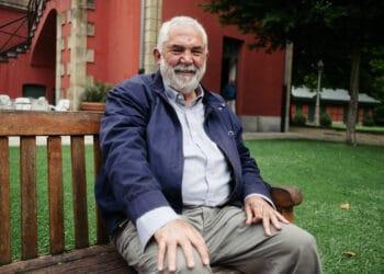 Félix Pérez, de la asociación de Aiete Lantxabe. Foto: Santiago Farizano