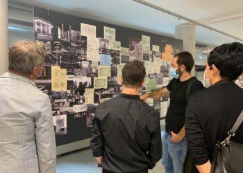 Presentación de las noches de cine. Foto: Instituto de Arquitectura de Euskadi