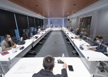 Archivo. Imagen de una reunión del LABI. Foto: Gobierno vasco
