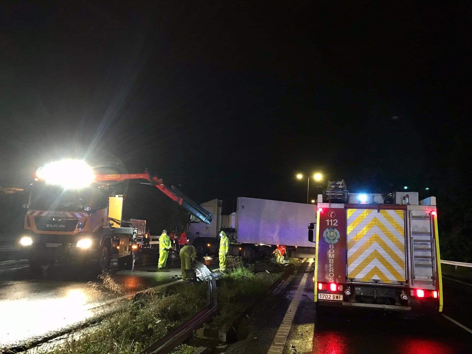 Tijera - Mañana con accidentes en las carreteras gipuzkoanas