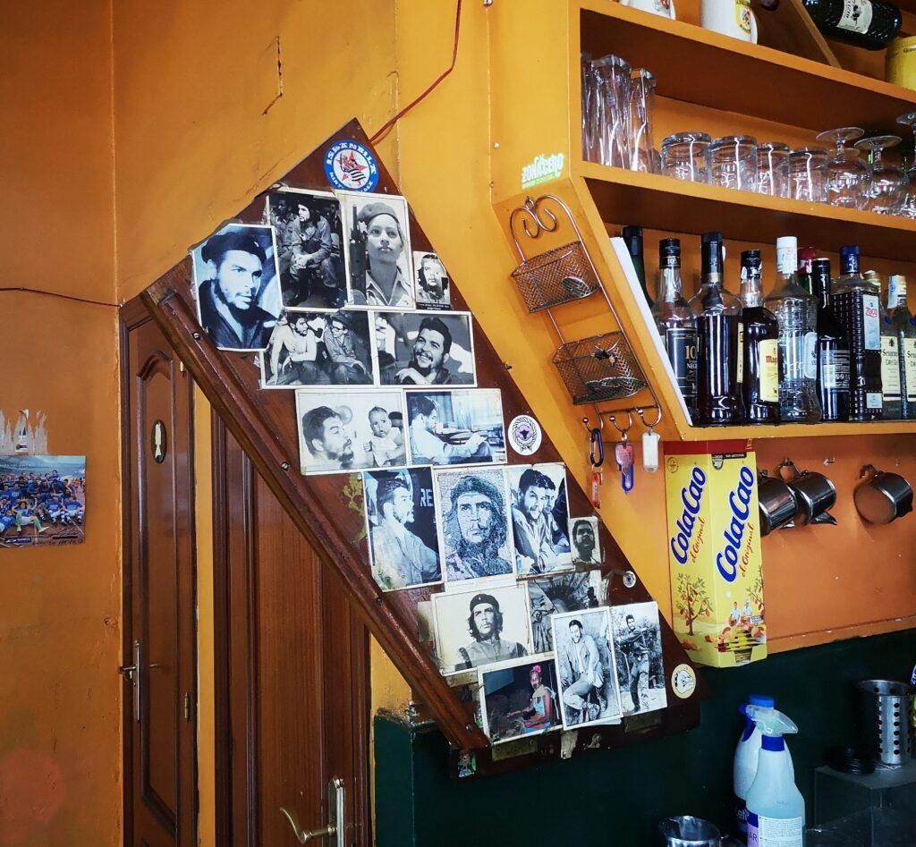 bar el nido herrera che 1024x947 - El Che Guevara revive en el bar El Nido de Herrera