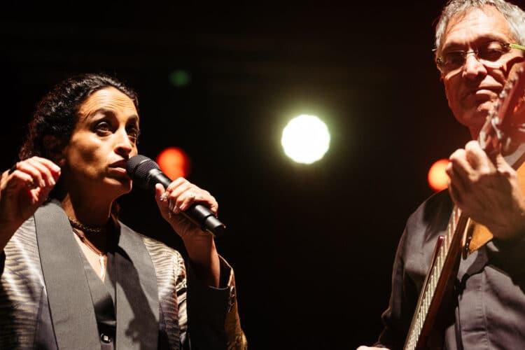 Actuación de Noa el sábado por la noche. Fotos: Santiago Farizano