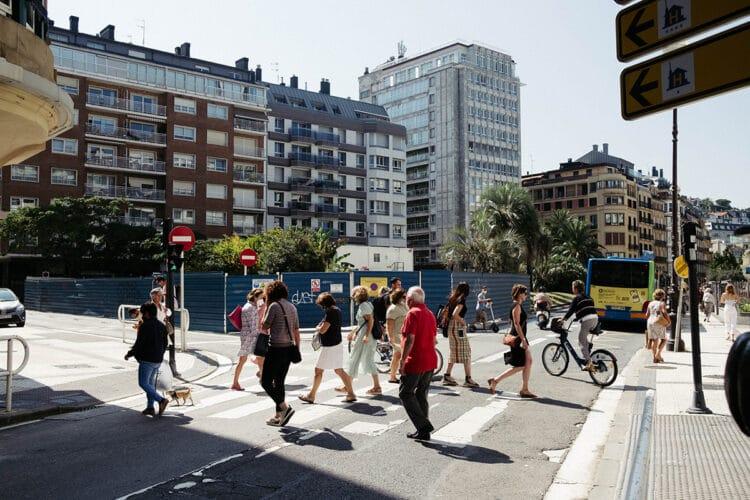 Calle Zubieta. Foto: Santiago Farizano