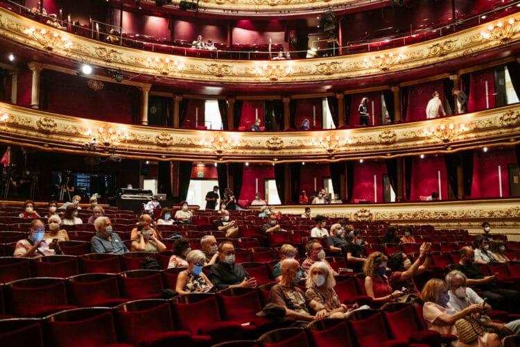 Los aforos culturales pasan a ser del 60% en Euskadi. Foto: Santiago Farizano