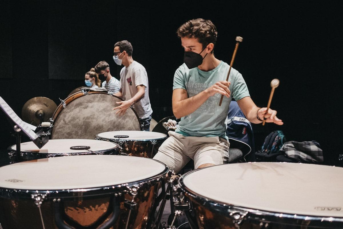 """DSCF5499 - """"Vamos a tocar con Gustavo Gimeno y Julian Rachlin. Eso resume el nivel de la EGO"""""""