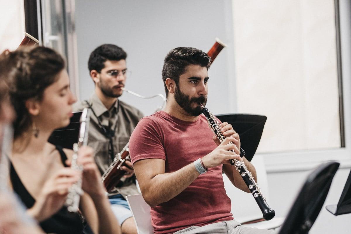 """DSCF5759 - """"Vamos a tocar con Gustavo Gimeno y Julian Rachlin. Eso resume el nivel de la EGO"""""""