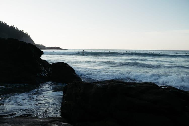 Playa de Deba. Foto: Santiago Farizano