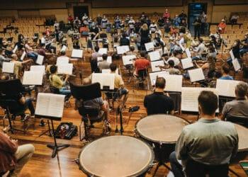 Euskadiko Orkestra durante esta Quincena Musical. Foto: Santiago Farizano