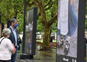Exposición sobre la cultura donostiarra en el Boulevard. Foto: Ayto.