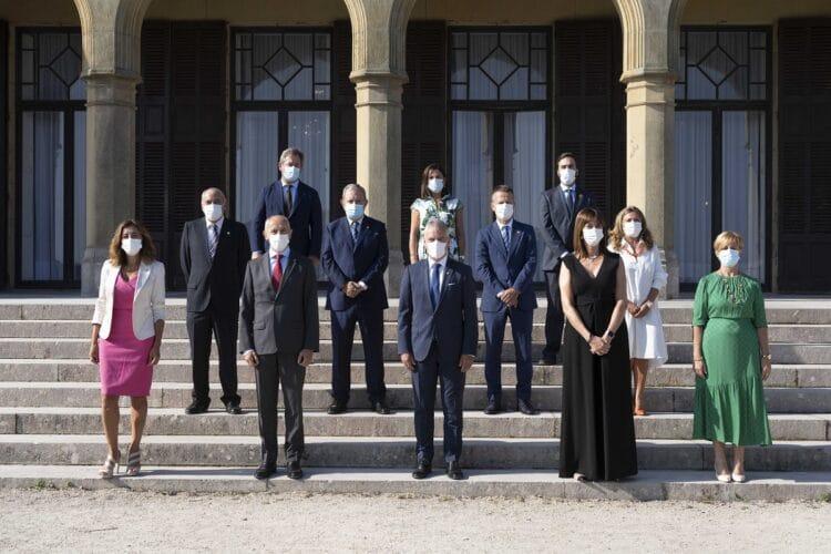 Consejo de Gobierno en el Palacio Miramar de Donostia. Foto: Gobierno vasco