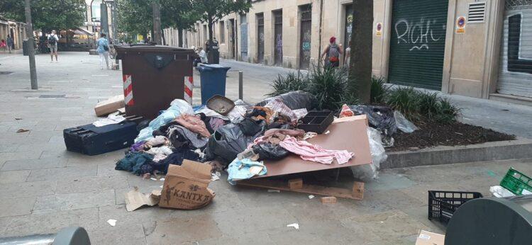 Jueves a las 20 horas en la plaza Sarriegi. Foto: Parte Zaharrean Bizi (vía twitter)