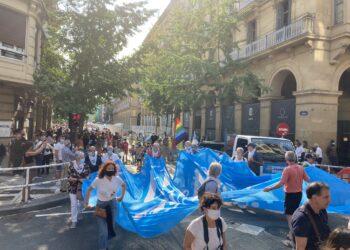 Imagen de Archivo. Manifestación de SARE en agosto. Foto: SARE