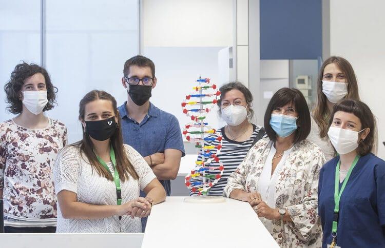 Equipo de la UVP/EHU que ha trabajado en el proyecto. Foto: Universidad del País Vasco