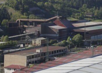 Infraestructura de ArcelorMittal en Zumarraga. Foto: Gobierno vasco