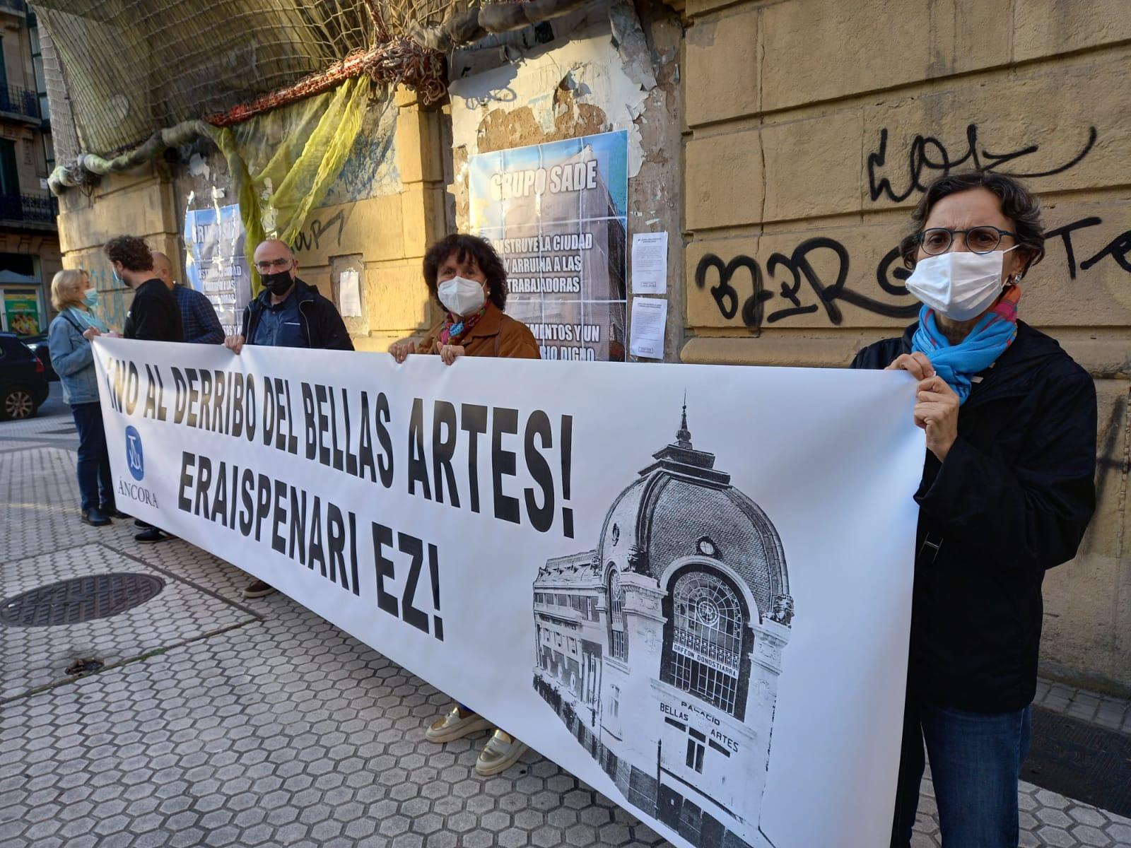 """Bellas2 - Áncora: """"Lo del Bellas Artes es un derribo encubierto"""""""