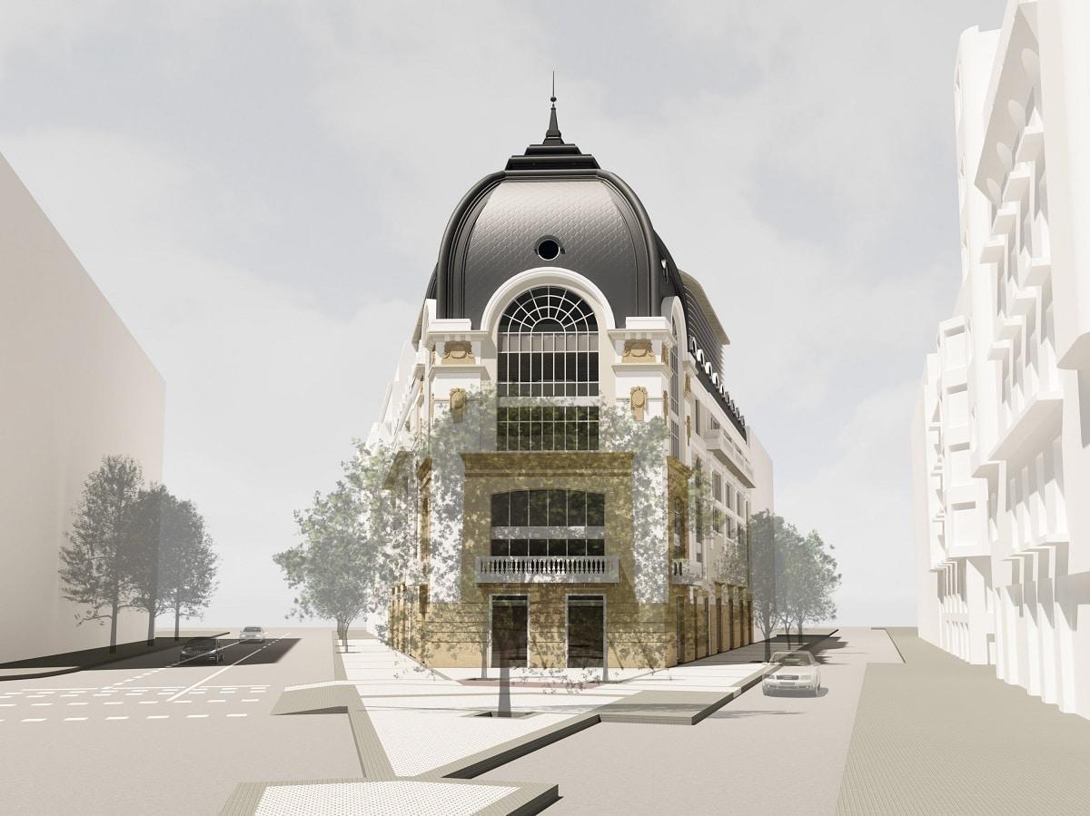 """BellasArtes proyecto2 - """"El Bellas Artes volverá a ser el edificio singular y emblemático que fue"""", asegura la SADE"""