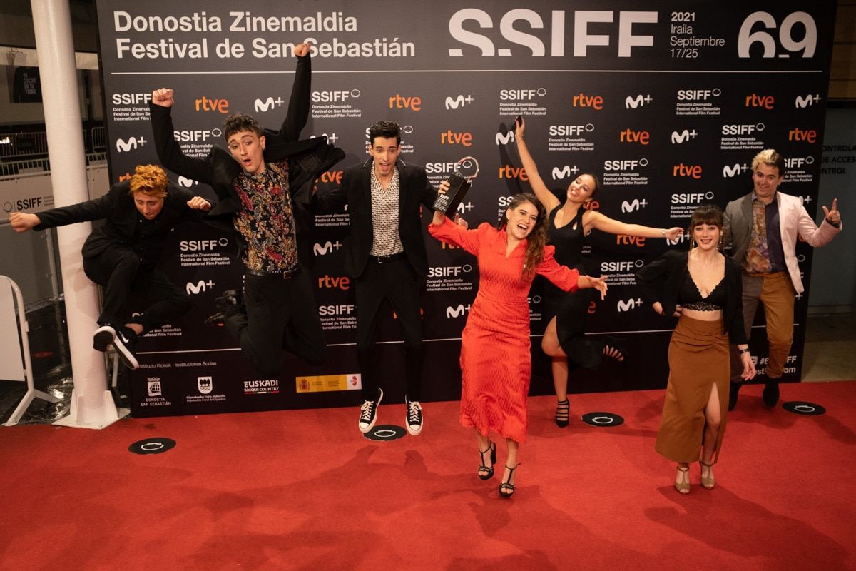 DSCF5629 - La película rumana 'Blue Moon' se lleva la Concha de Oro en San Sebastián