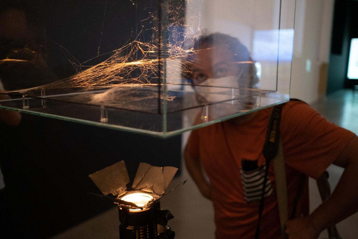 DSCF7272 - Arte y cine se fusionan en dos nuevas exposiciones en Tabakalera