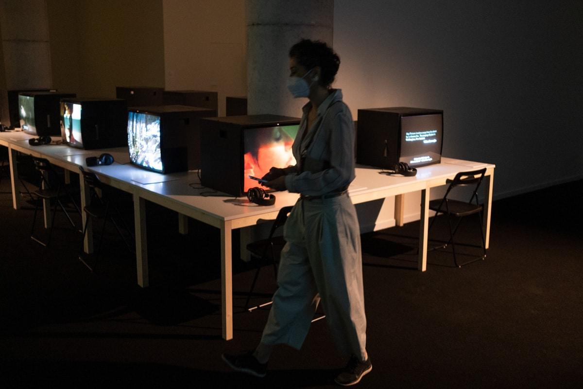 DSCF7312 - Arte y cine se fusionan en dos nuevas exposiciones en Tabakalera