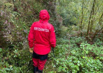 Imagen de la búsqueda. Foto: Ertzaintza