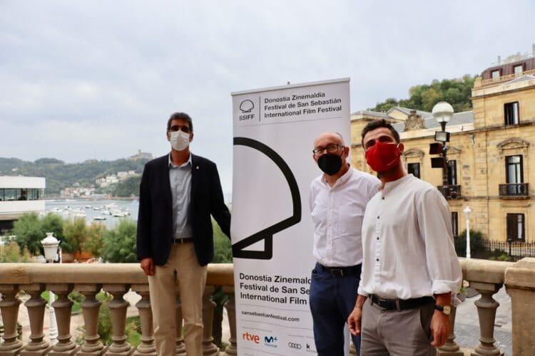 Presentación del Premio Ciudad de San Sebastián/Donostia del Zinemaldi. Foto: Ayto