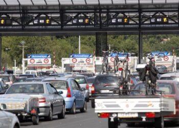 Paso fronterizo de Biriatou. Foto: Diputación.