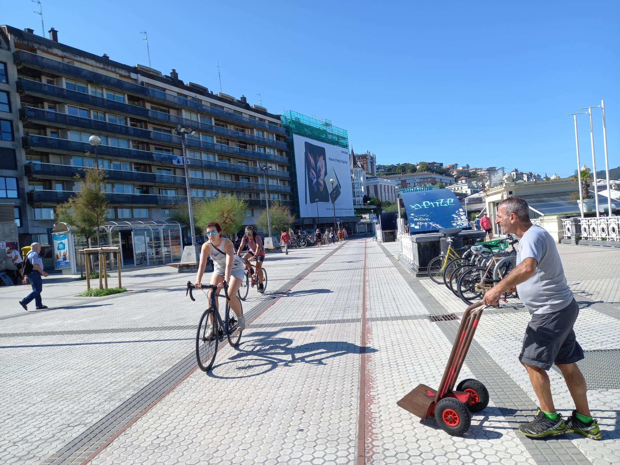 concha1 - El Paseo de la Concha se cerrará a los vehículos a partir del 28 de septiembre