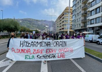 Foto y vídeo: ELA sindikatua
