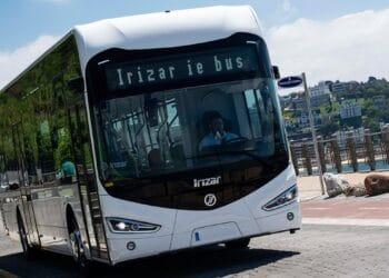 Un vehículo de Irizar como los encargados por Madrid. Foto: irizar-emobility.com.