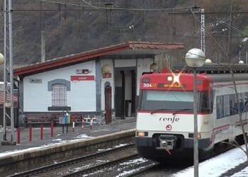 Estación de tren de Legazpi. Foto: Ferrocarril Ibérico.