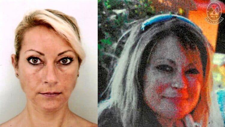 Peregrina francesa desaparecida en Gipuzkoa. Foto: UVR Ertzaintza (vía twitter)