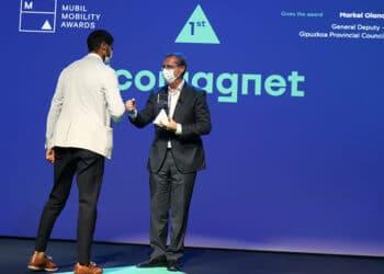 Imagen de la entrega de los premios. Foto: Diputación