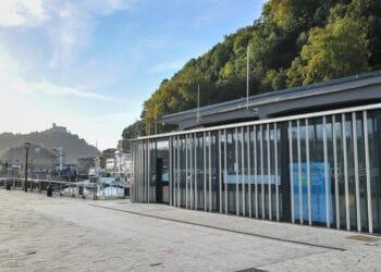 El edificio Portaaviones del Puerto donostiarra. Foto: Gobierno vasco
