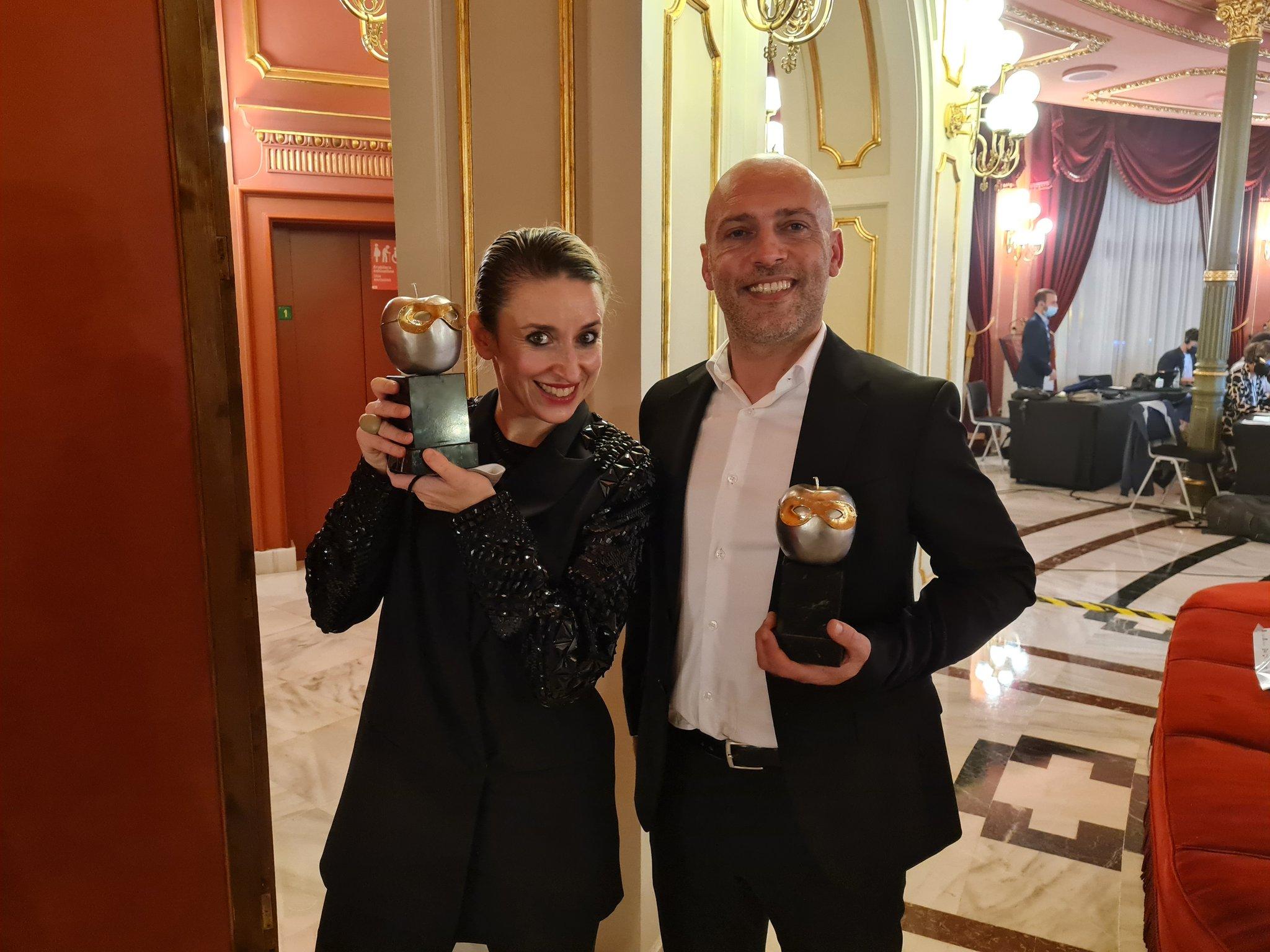 Iratxe Ansa Max - Premios Max con reflejo en Gipuzkoa
