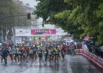 20ª Media Maratón San Sebastián celebrada el domingo. Foto: Félix Sánchez