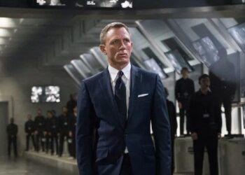 Daniel Craig en una de las escenas de 'Sin tiempo para morir'.