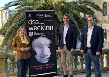 Presentación esta mañana de la Semana de la Innovación DSS Weekinn. Foto: Ayto