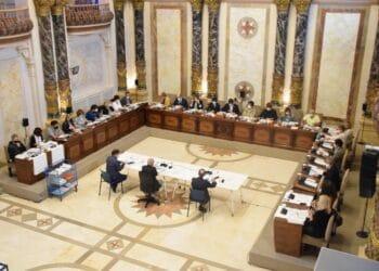 Imagen de un pleno del Consistorio. Foto: Ayto