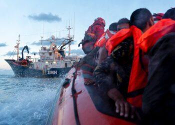 Rescate del Aita Mari. Foto: Alfonso Novo